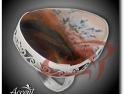 Accent Bijuterii - Inel din argint cu picture agat vi5772