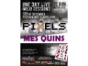 OneDay Live Mojo Sessions: concert The Pixels si Mes Quins