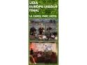 Finala UEFA Europa League se muta la Carol Parc Hotel!