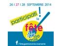 """Din 26 in 28 septembrie, sa sarbatorim impreuna gastronomia la """"Fête de la Gastronomie""""!"""