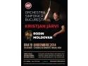 Kristjan Jarvi la pupitrul  Orchestrei Simfonice București