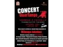 Concert de tango argentinian -Hommage a Piazzolla- sustinut de QuarTango, Duminica 13 nov, orele 21