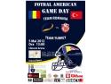 Meci internațional de fotbal american între Echipa României și Echipa Nationala a Turciei