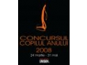 CONCURS COPILUL ANULUI 2008 editia a III-a BRASOV - ROMANIA