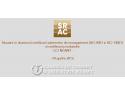 Noutati in domeniul certificarii conform ISO 9001, ISO 14001 si certificarii produselor