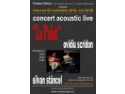 Concert acoustic live - Ovidiu Scridon & Silvan Stancel