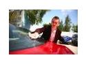 Afacere pe timp de criza: spalatorie auto fara apa la sediul firmelor de leasing
