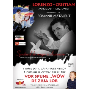 Magic-Fest cu Lorenzo-Cristian