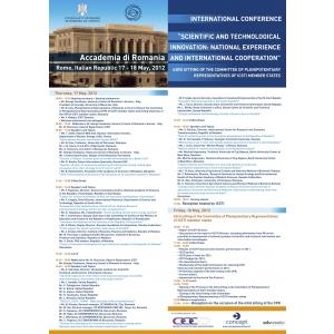 """Conferinţa internaţională """"Scientific and Technological Innovations"""