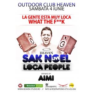 Show SAK NOEL si Concert AIMI  la Timisoara