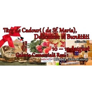 Targ de Cadouri ( de Sf. Maria), Delicatese și Bunătăți – ediția a V-a