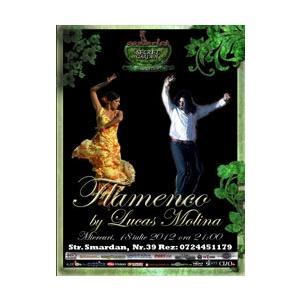 Spectacol de Flamenco in Scarlet Secret Garden