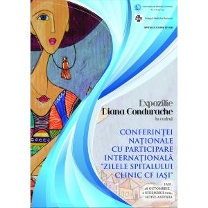 """Conferinta Nationala cu participare Internationala  """" Zilele Spitalului Clinic CF IASI """" 2014"""