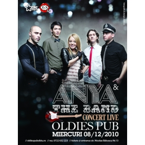 Concert Anya & The Band @ Oldies Pub Sibiu