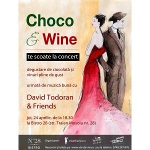 Degustare de ciocolata si vin Choco&Wine