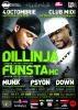 [4 OCT] DILLINJA & MC FUNSTA @ Club MIDI Cluj-Napoca