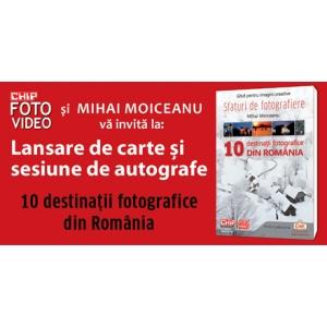 Lansare carte 10 destinatii fotografice din Romania