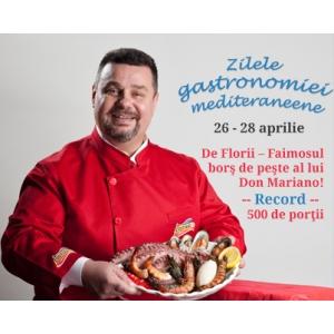 Zilele Gastronomiei Mediteraneene la Piata Pipera