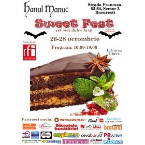 Sweet Fest - targ de dulciuri, editia de Halloween