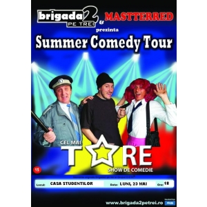 Spectacol de comedie cu Brigada 2 pe trei si Masttrered