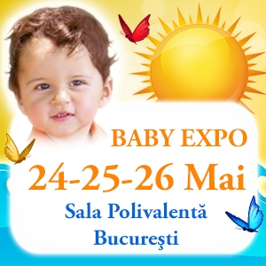 BABY EXPO, cea mai mare sarbatoare a Gravidelor si a Bebelusilor din Romania !