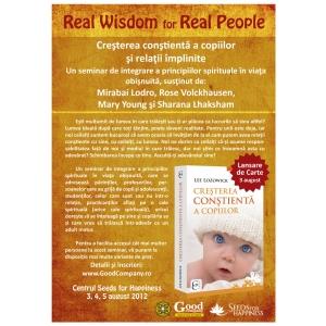REAL WISDOM for REAL PEOPLE - CREȘTEREA CONȘTIENTĂ A COPIILOR și RELAȚII ÎMPLINITE