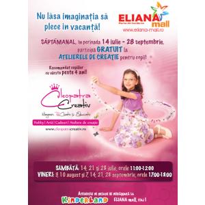Ateliere magice de creaţie la ELIANA mall