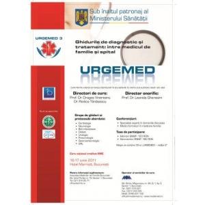 Urgemed  3 – Ghidurile de diagnostic si tratament: intre medicul de familie si spital