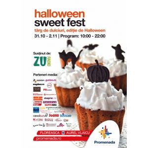 Sweet Fest de Halloween - un regal al dulciurilor alese la mall Promenada