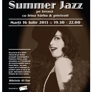 Summer Jazz, cu Irina Sârbu și prietenii