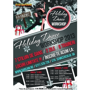 Holiday Dance Workshop 2013