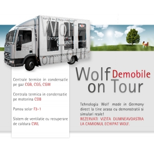 Caravana Wolf on Tour