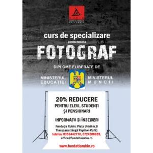 CURS DE FOTOGRAFIE - inscrieri grupa II/2012