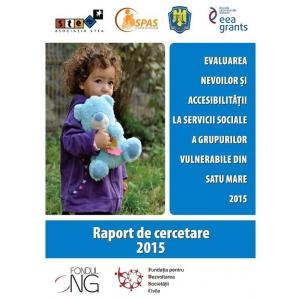 Lansare raport de cercetare sociala asupra nevoilor si accesibilitatii la servicii sociale