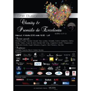 She Business Charity & Premiile de Excelenta, editia a II-a