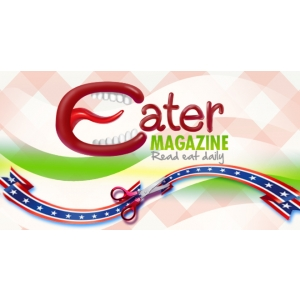 """Eater Magazine, """"read, eat daily"""" in English!"""