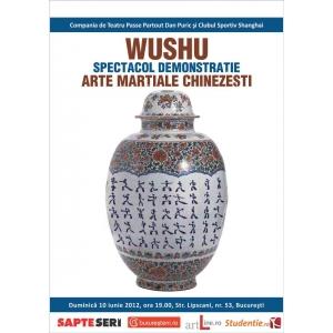 WUSHU - Spectacol-demonstrație de arte marțiale chinezești