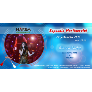 Rapsodia Martisorului @ Harem Restaurant & Lounge