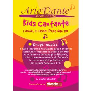 ArioDante Kids Cantante