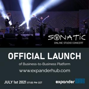 Lansare ExpanderHUB.com - Concert online - SONATIC