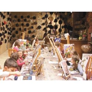 Cursuri de pictura, desen si modelaj la Galeria Basil