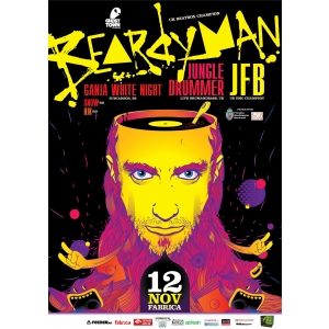 Beardyman revine in Bucuresti pe data de 12 Noiembrie, intr-un show 100% live