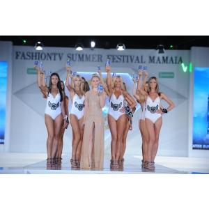 FashionTV promoveaza statiunea Mamaia pe covorul rosu de la Cannes