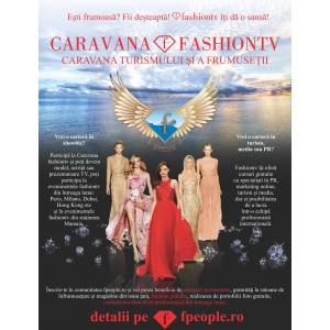 Caravana Fashiontv face preselectii  in Craiova si Iasi !