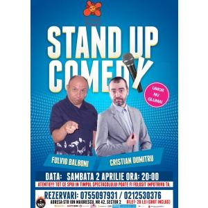Stand-Up Comedy Bucuresti Sambata 2 Aprilie
