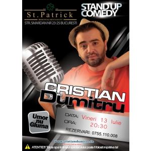 Stand Up Comedy Bucuresti Vineri 13 Iulie 2012 St. Patrick (centrul vechi)