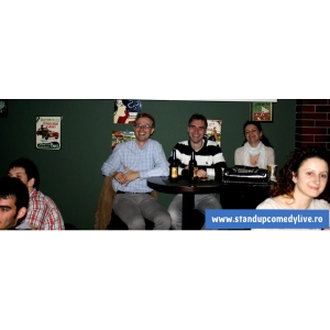Stand Up Comedy Bucuresti Joi Caffe DaMask