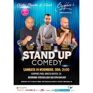 Stand-Up Comedy Sambata 14 Noiembrie bucuresti
