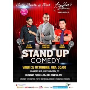 Stand-Up Comedy Vineri 23 Octombrie Bucuresti