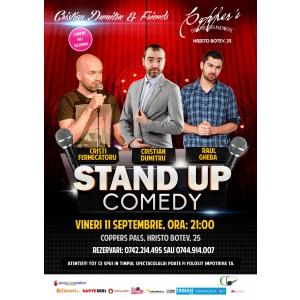 Stand-Up Comedy Vineri Bucuersti 11 Septembrie